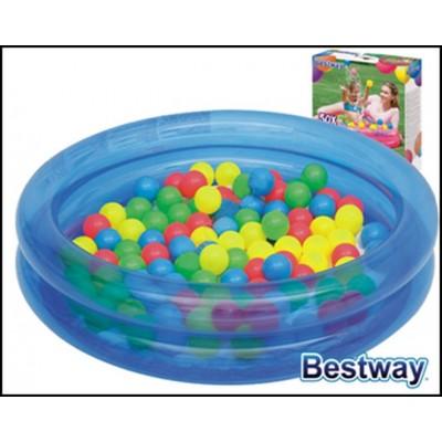 Bestway bazénik+50ks loptičiek