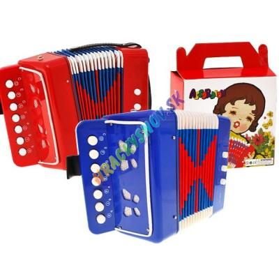 Hudobný akordeón-harmonika pre deti