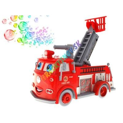 Multifunkčné požiarnicke auto s bublinami