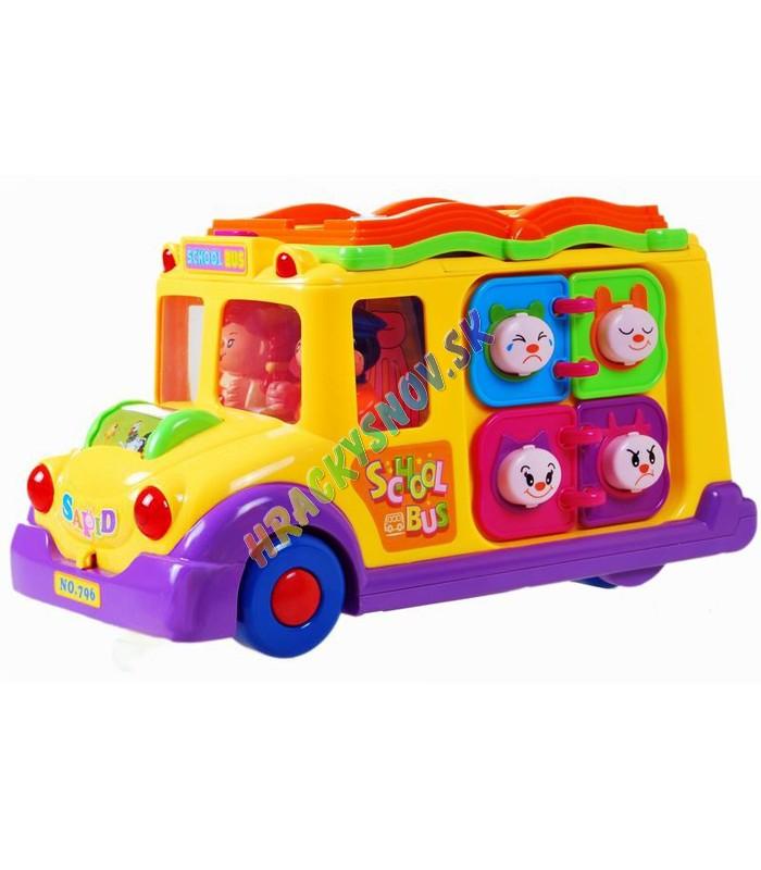 Huile Toys Interaktívny veselý autobus