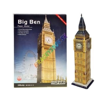 3D Puzzle Big Ben 26 ks.