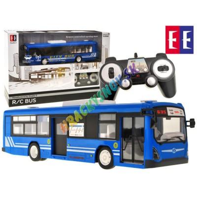 Autobus na diaľkové ovládanie s osvetlením