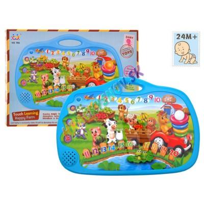 Huile Toys Farma na dotykovom panely-anglicky