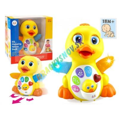 Huile Toys Interaktívna hudobná pohybujúca sa kačička