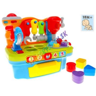 Huile Toys-pracovný stolík pre najmenších majstrov