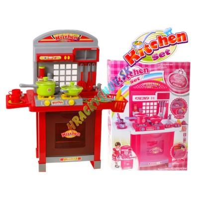 Kuchyňa veľká pre deti so zvukom a rúrou