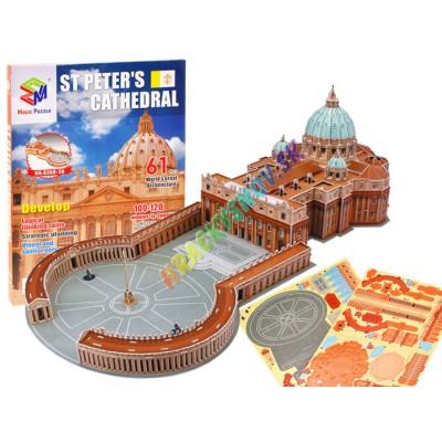 3D bazilika sv.Petra vo Vatikáne