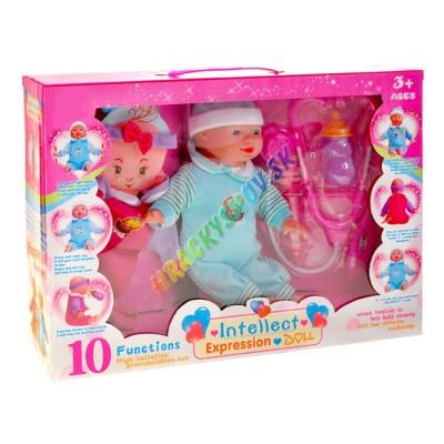 Interaktívna bábika s pohybujúcou sa tváričkou