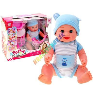 Interaktívna bábika s nočníkom hovoriaca po anglicky