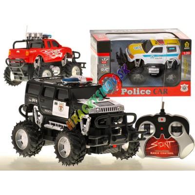 RC Polícia Monster Track na diaľkové ovládanie