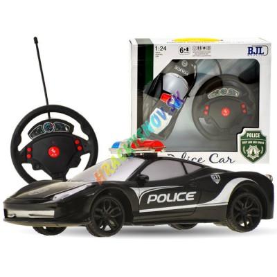 RC Polícia s volantovým diaľkovým ovládaním