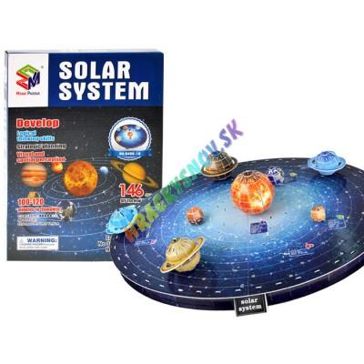 3D Puzzle Slnečná sústava