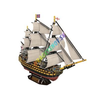 3D Puzzle plachetnica Victory