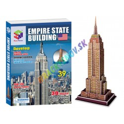 3D Puzlle Empire State USA 39ks.