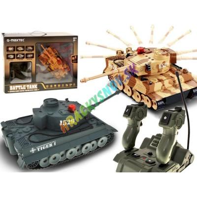 Tiger M1A bojový tank na diaľkové+joistick